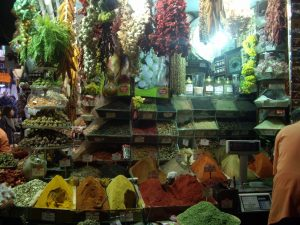 Explosion of color and aroma at the Spice Market